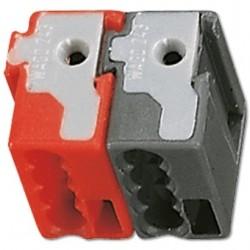 Terminales conexión rojo y...