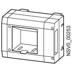 Caja derivacion 4M/DIN 35A...